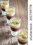 jelly dessert in the glasses | Shutterstock . vector #331759778
