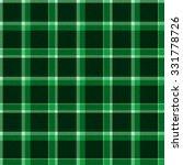 green seamless tartan pattern ... | Shutterstock . vector #331778726