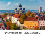 Toompea Hill With Tower Pikk...