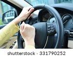 beeping car driver | Shutterstock . vector #331790252