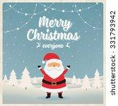 christmas character design.... | Shutterstock .eps vector #331793942