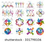 big collection of colorful... | Shutterstock .eps vector #331798106