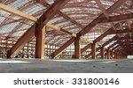 metal construction. stadium... | Shutterstock . vector #331800146