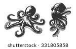 octopus | Shutterstock .eps vector #331805858