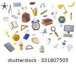school accessories | Shutterstock . vector #331807505