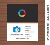 photographer business card...