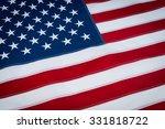 american flag | Shutterstock . vector #331818722