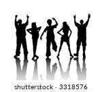 friends   vector | Shutterstock .eps vector #3318576