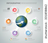 design infographic 6 steps. can ... | Shutterstock .eps vector #331858862