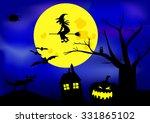halloween    Shutterstock .eps vector #331865102