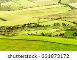 high altitude farming in andes... | Shutterstock . vector #331873172