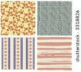 pattern vegetation star... | Shutterstock .eps vector #3318826