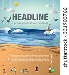 beach clean up | Shutterstock .eps vector #331903766