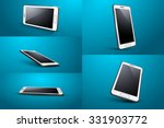 smart phone | Shutterstock .eps vector #331903772