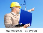 architect with laptop | Shutterstock . vector #3319190