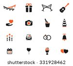 wedding icons | Shutterstock .eps vector #331928462