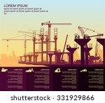 under construction autobahn   Shutterstock .eps vector #331929866