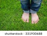 bare feet of asian child on... | Shutterstock . vector #331930688