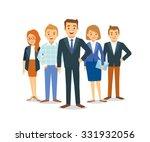 vector business team | Shutterstock .eps vector #331932056