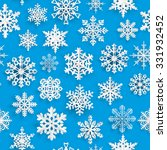 christmas seamless pattern with ... | Shutterstock . vector #331932452