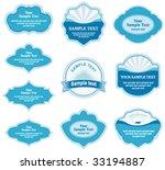 set of design elements | Shutterstock .eps vector #33194887