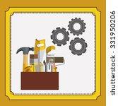 under construction design ... | Shutterstock .eps vector #331950206