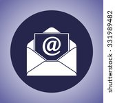 mail sign icon  vector... | Shutterstock .eps vector #331989482