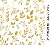 vector gold seamless pattern ...   Shutterstock .eps vector #331991492