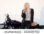 Fashion Female Biker Girl....