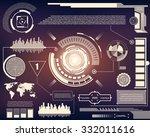 abstract future  concept vector ... | Shutterstock .eps vector #332011616