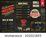 Restaurant Food Menu Design...