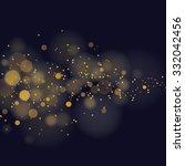 vector glittering stars on... | Shutterstock .eps vector #332042456