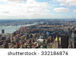 new york city  cityscape view... | Shutterstock . vector #332186876