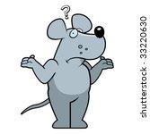 confused rat | Shutterstock .eps vector #33220630