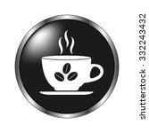 cup of cofee icon   vector... | Shutterstock .eps vector #332243432