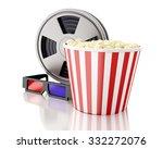 3d renderer image. film reel... | Shutterstock . vector #332272076