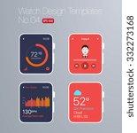 smart watch design templates  ...