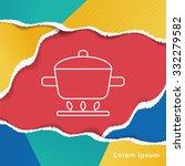 pot line icon | Shutterstock .eps vector #332279582