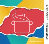pot line icon | Shutterstock .eps vector #332279876