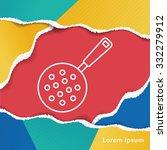 pot line icon | Shutterstock .eps vector #332279912