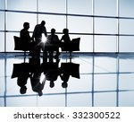 business team discussion... | Shutterstock . vector #332300522