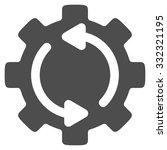 refresh engine vector icon....