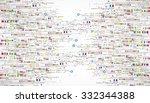 abstract technology business... | Shutterstock .eps vector #332344388