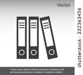 office folder icon | Shutterstock .eps vector #332363456