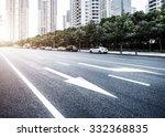 the street scene of the...   Shutterstock . vector #332368835