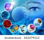 medical science and scientific... | Shutterstock . vector #332379212