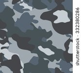 camouflage. military vector... | Shutterstock .eps vector #332380286