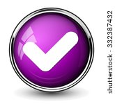 confirm icon | Shutterstock .eps vector #332387432