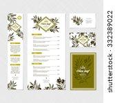 restaurant identity template.... | Shutterstock .eps vector #332389022
