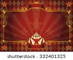 horizontal rhombus circus... | Shutterstock .eps vector #332401325